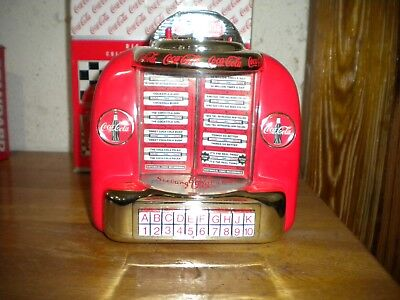 Coca Cola Diecast Metal Collectible Musical Bank