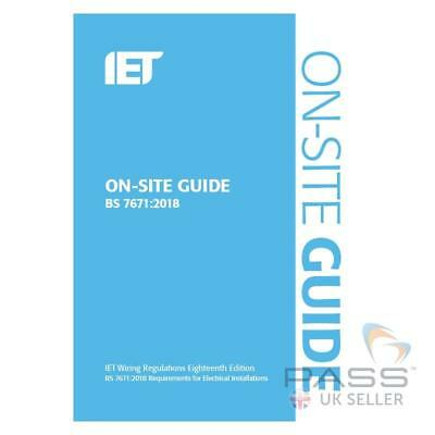 IET On-site Guide 7th Edition *Newest Version 2018*