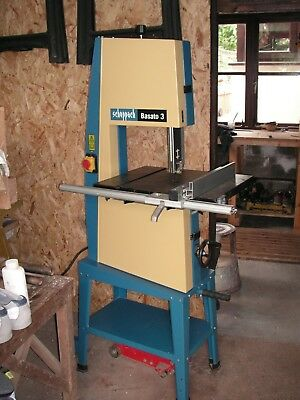 Sheppach Bandsaw.  Basato 3 in mint condition.