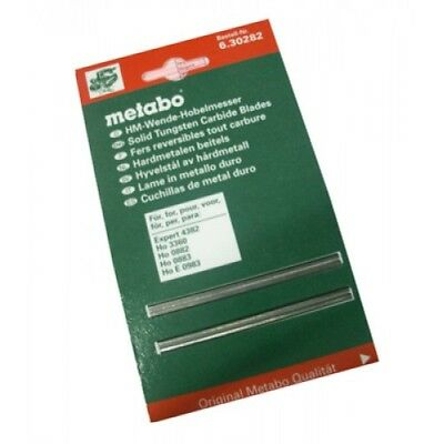 Metabo 6.30282 Double Edge Planer Blades 82mm x 6mm (2PCE)
