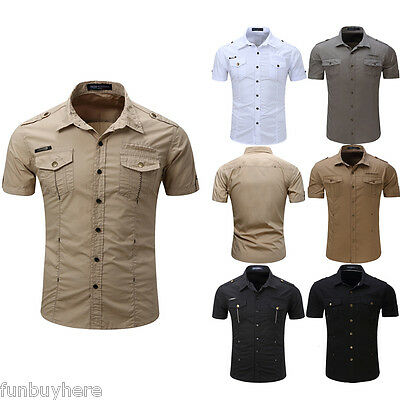 85434a188a HOMME-MILITAIRE-slim-fit-double-poches-Chemise-manches.jpg