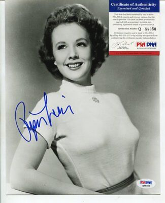 PIPER LAURIE autograph HAND SIGNED with PSA DNA COA 9757