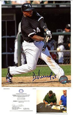 MLB sox DAYAN VICIEDO autograph HAND SIGNED  8 X 10 with COA & PROOF  SB1672