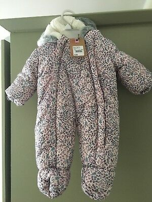 Mantaray New Born Snowsuit