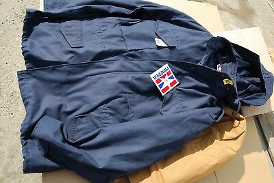 m-65 field jacket black--  navy or brown duck  new  x large reg 100--now $59