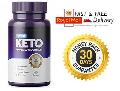 PUREFIT KETO ADVANCED WEIGHT LOSS (60 Capsules) FAST & UK FREE SHIPPING