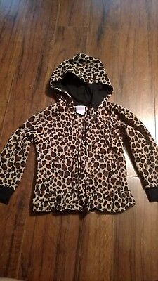 Garanimals Girls Lepord Print Coat Size 4T