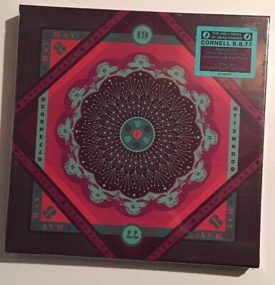 The Grateful Dead 5 LP Vinyl Box Set Cornell 77 5.8.77 New Jerry Garcia 180 Gram