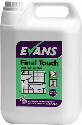 Evans Vanodine Final Touch Washroom Sanitiser 2 x 5L