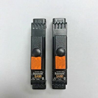 Bussmann SAMI-9N   **2 Non-Indicating Fuse Covers**