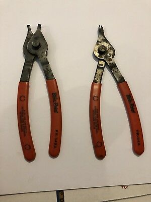 Blue Point Internal External Retaining Ring Pliers-straight & Offset Snap On
