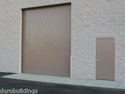 DuroSTEEL JANUS 18'W x 16'H Commercial 2500 Series Heavy Duty Rollup Door DiRECT