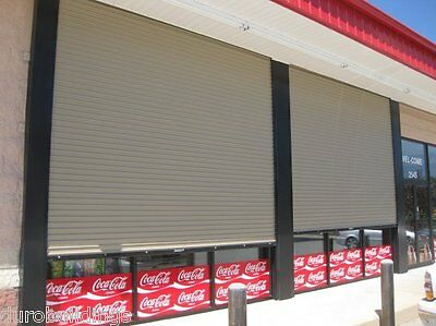 DuroSTEEL JANUS 18'W x 12'H Commercial 2500 Series Heavy Duty Rollup Door DiRECT