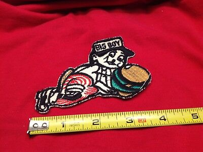 Vintage Big Boy Small Embroidered Patch