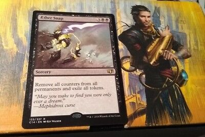 AETHER SNAP 133/337 Commander 2014 C14 RARE Mtg Magic the Gathering NEW
