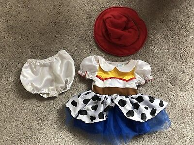 Disney Toy Story Jessie Baby Girls Costume Outfit Age 3-6 Months *Worn Once*