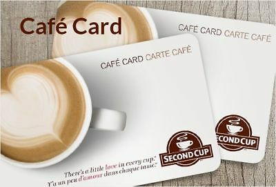 Second Cup $100 Gift Card (Physical)