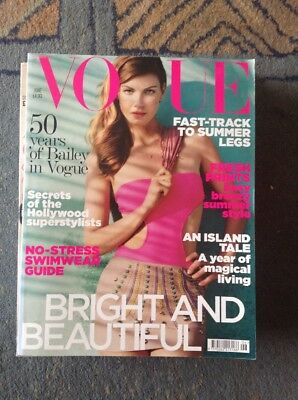 Vogue June 2010 Angela Lindvall --Olivia Palermo - 50 years of David Bailey
