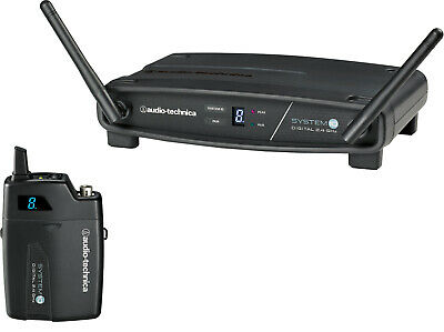 Audio-Technica ATW-1101 System 10 Stack-Mount Digital Wireless Bodypack System