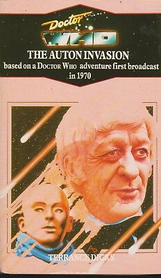 Doctor Who - The Auton Invasion Virgin reprint