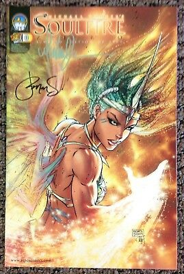 Soulfire #0 Wizard World  East Limited Edition of 2500 SIGNED by Michael Turner