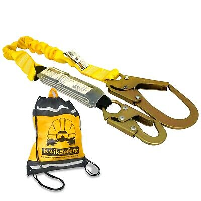 KwikSafety BOA 6' ANSI 1 Leg Fall Protection w/ Shock Absorbing Safety Lanyard