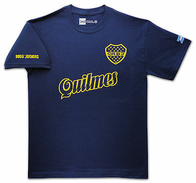 Boca Juniors 1995 Quilmes retro T-shirt size Medium