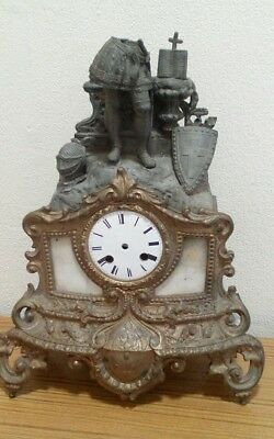 Vintage/antique clock case; spares or repair