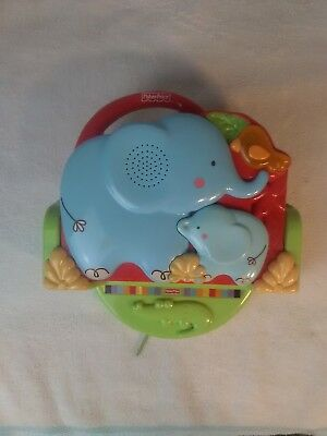 Fisher Price Luv U Zoo Crib 'n Go Musical Projector Soother with Mirror Base