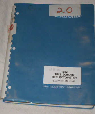 Tektronix 1502 TDR (Time Domain Reflectometer) Service Manual