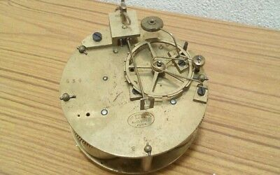 Vintage mechanical clock movement A.. Gouel Paris