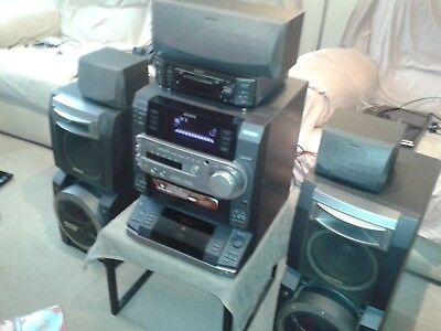 Sony Lbt-Lx9Av Full Remote Controlled Compact Hi-Fi Stereo System