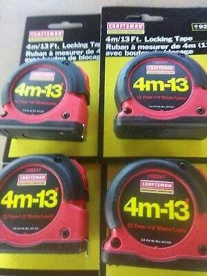 Craftsman tape new 4m/13ft