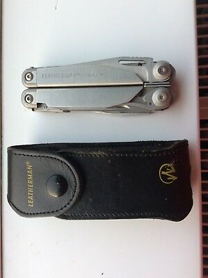 Leatherman multi tool surge complete with Leatherman leather belt pouch