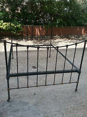 Victorian cast iron Double Bed