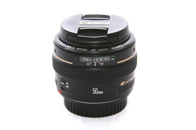 Canon EF 50 mm F/1.4 EF USM for Canon - Black **5248**