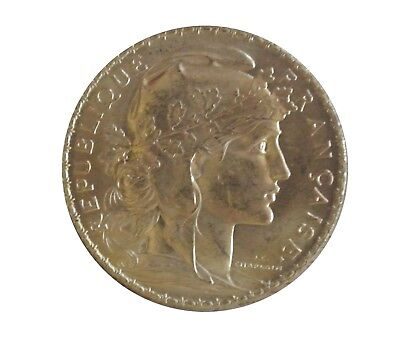 1914 France Gold 20 Francs (.1867 oz) - Rooster - Uncirculated Gold Coin