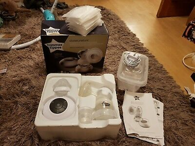 Tommee Tippee Closer to Nature Electric Breast Pump set, hardly used!