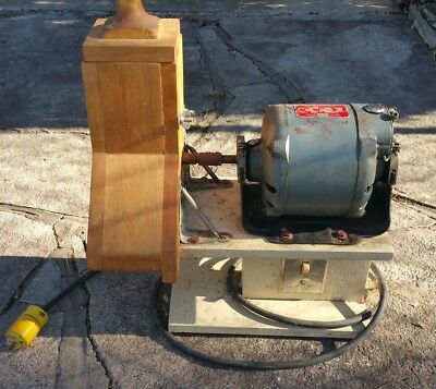 Vintage Electric Cheese Grater Delco 1/4 HP Type A Electric Motor