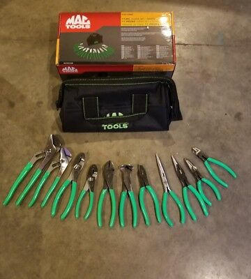 Mac Tools 11 piece Pliers set  New P301998G
