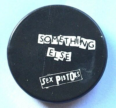 SEX PISTOLS Something Else Old OG Vtg 1970`s Button Pin Badge(25mm) PUNK Sid