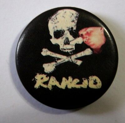 RANCID Button Pin Badge 25mm PUNK SKA NOT DROPKICK MURPHYS (NOT patch lp shirt)