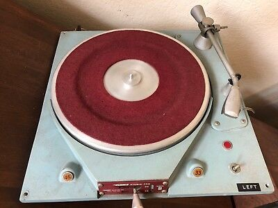 Russco Studio Pro B Transcription Turntable With Tonearm Rek O Kut Micropoise