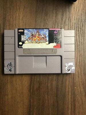 King Arthur And The Knights Of Justice For Super Nintendo Snes(Tested)