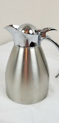 Service Ideas 98206BS  Server Carafe .6L Polished, Brushed Stainless Steel QTY