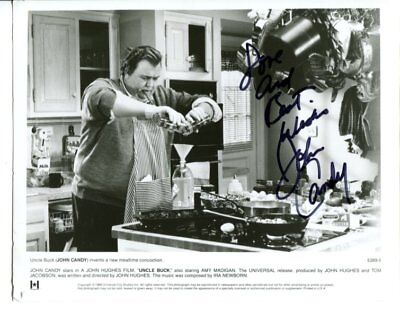 JOHN CANDY autograph HAND SIGNED 553