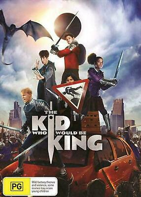 The Kid Who Would Be King : NEW DVD : Australian Stock : *PRICE SMASHED*
