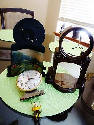 Mastercrafters Vintage Clock Parts Onlymostly Complete