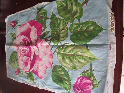 Pure Linen Tea Towel By Ulster - Lovely  Rose