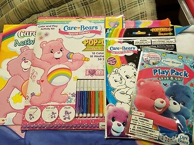 Care Bears kids fun activity collection. 4 pieces to keep kids busy!!